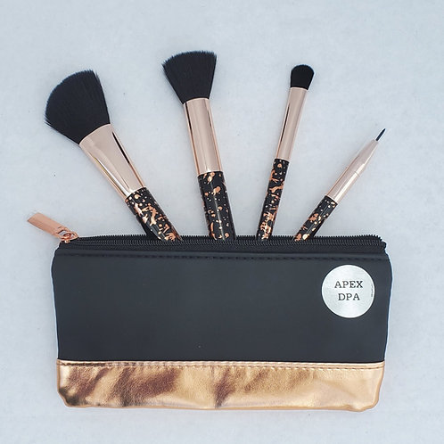 Make-up Brush Set & Carrying Case