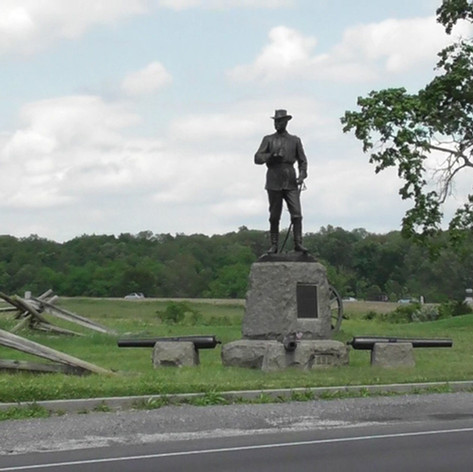 General John Bufords Memorial at Gettysburg