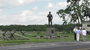 General John Bufords Memorial at Gettysburg