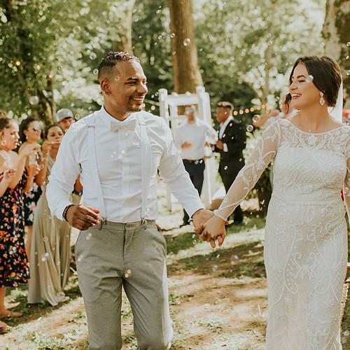 Elizabeth + Kareem Wedding