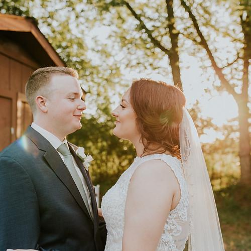 Megan + Brett Wedding