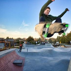 Ollie at Skatepark