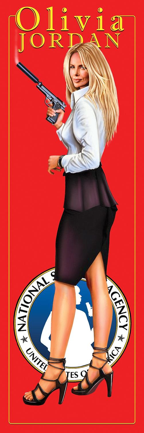 Olivia Joran National Security Agent