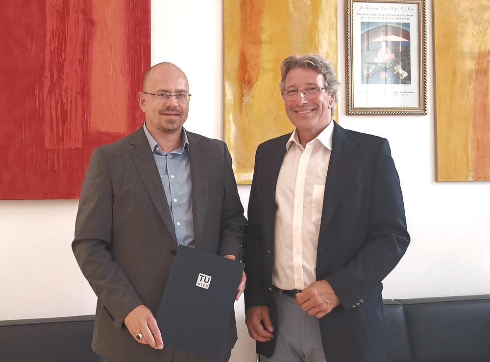 Verleihung Privatdozent an Markus Hoffmann