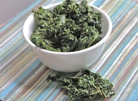 Salt N Vinegar Kale Chips