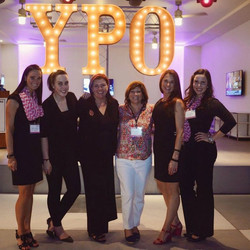 Ms. Kelley with YPO