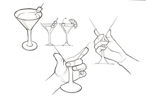 Martini Glass Hand Studies.jpeg