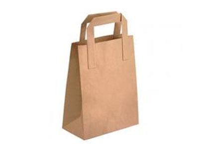 Brown Handle Paper Bag 175x90x230mm