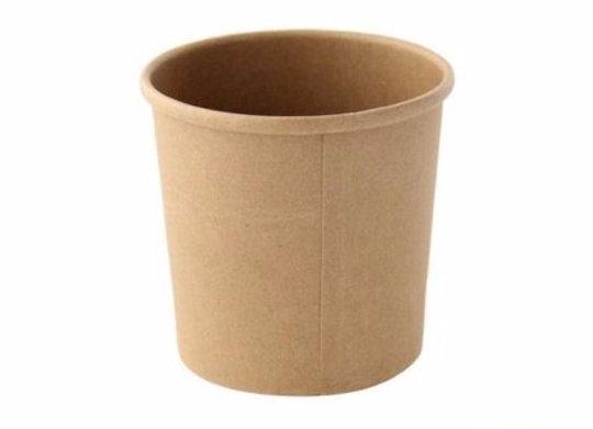 Kraft Cup Diameter 90mm - H85mm, 350ml, 12oz