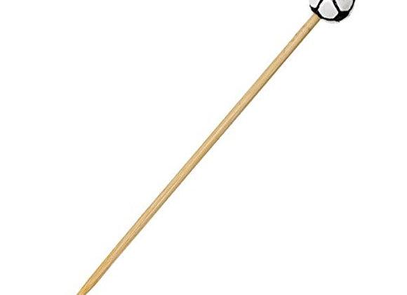 Bamboo Skewers Football Design - 120mm