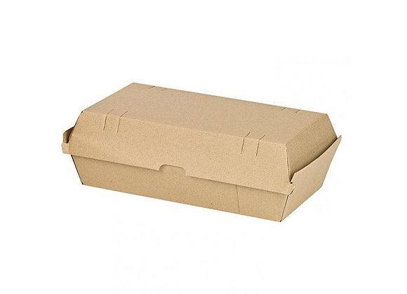 KRAFT HOT DOG BOX  250X108X67MM