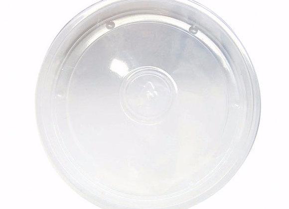 Flat Translucent PP Lid, Diameter 90mm