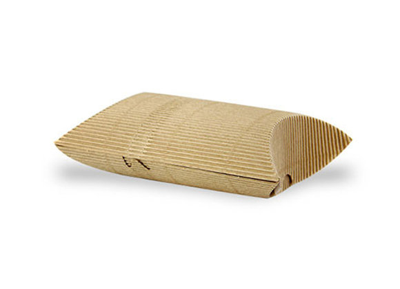 Corrugated Hot Sandwich Boxes 5.1 x 5.7 x 2.2 in