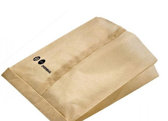 Brown paper oven bag 19.5 x 17.0 x 4.0 CM