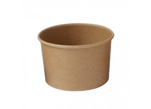 Kraft Paper Cup 90 ml -3 oz - Diam 75 - H 45 mm