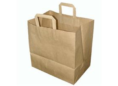 Brown Caterer Bag KOLOS - 320X170X340mm