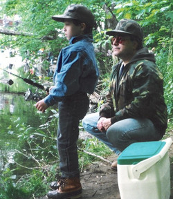 07 Teaching Son to fish
