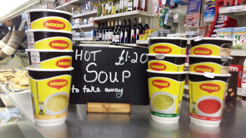 Draycott in the Clay Store - hot soup.jpg