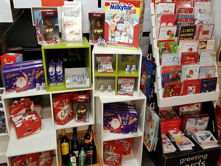 Christmas at Draycott Post Office & Store