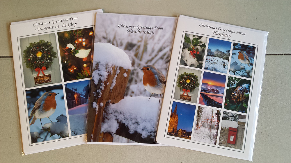 Christmas cards at Draycott in the Clay Post Office and Store.jpg