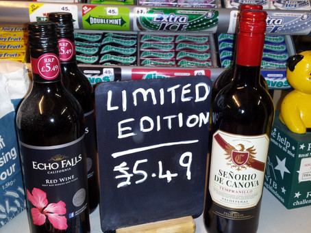 Pick up a red wine bargain