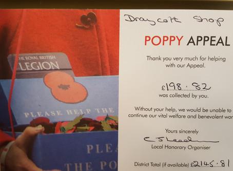 Poppy Appeal raises nearly £200