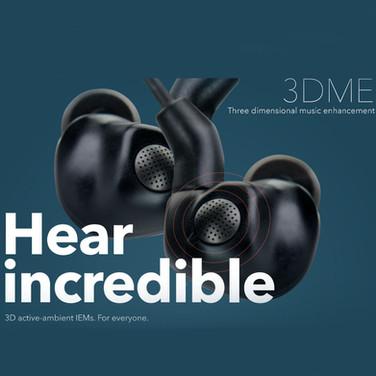 3DME in-ear monitor