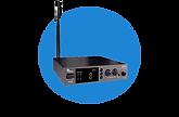 Système de transmission audio UHF