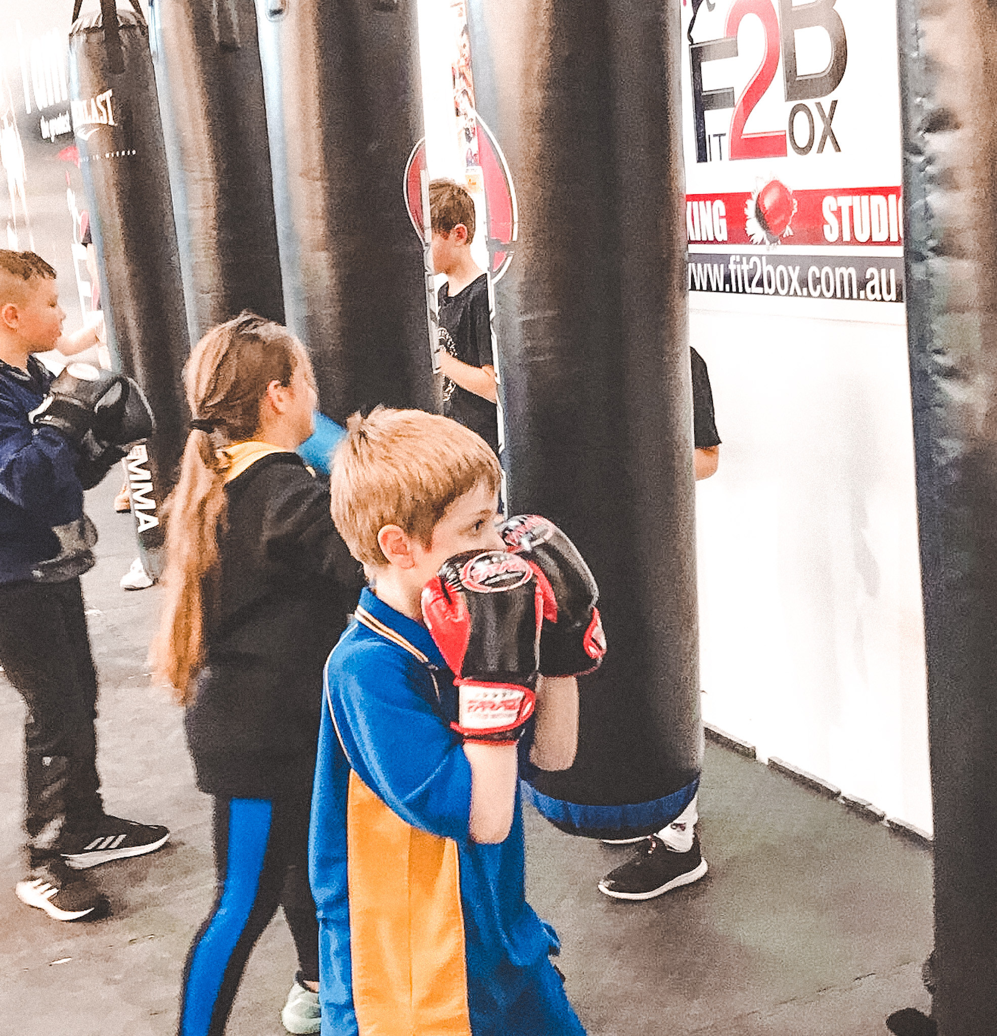 Tuesday - Kids Boxing Term 2