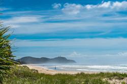 Tallow beach + Byron Lighthouse