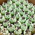 Mini Cupcakes 1 Dozen.....$1.50 (min 50 pcs order)