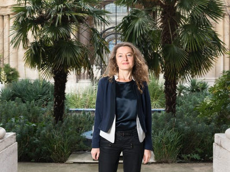 """Delphine Lévy: """"Continuer à apprendre, à chercher, à rencontrer me tient vraiment à cœur."""""""