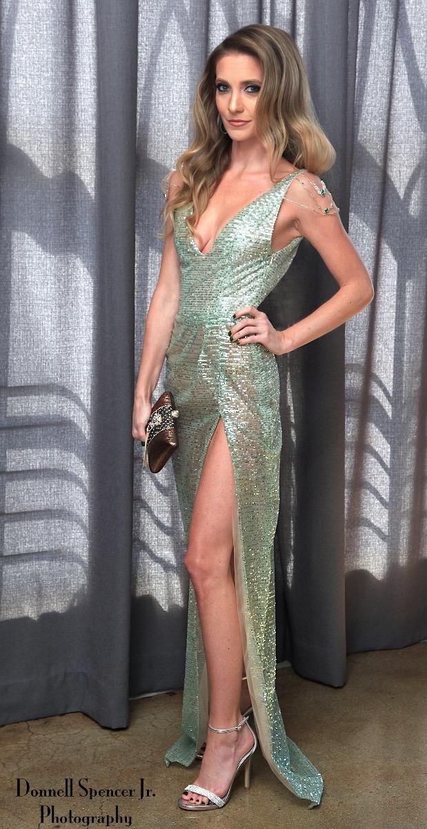 Emmys red carpet dress