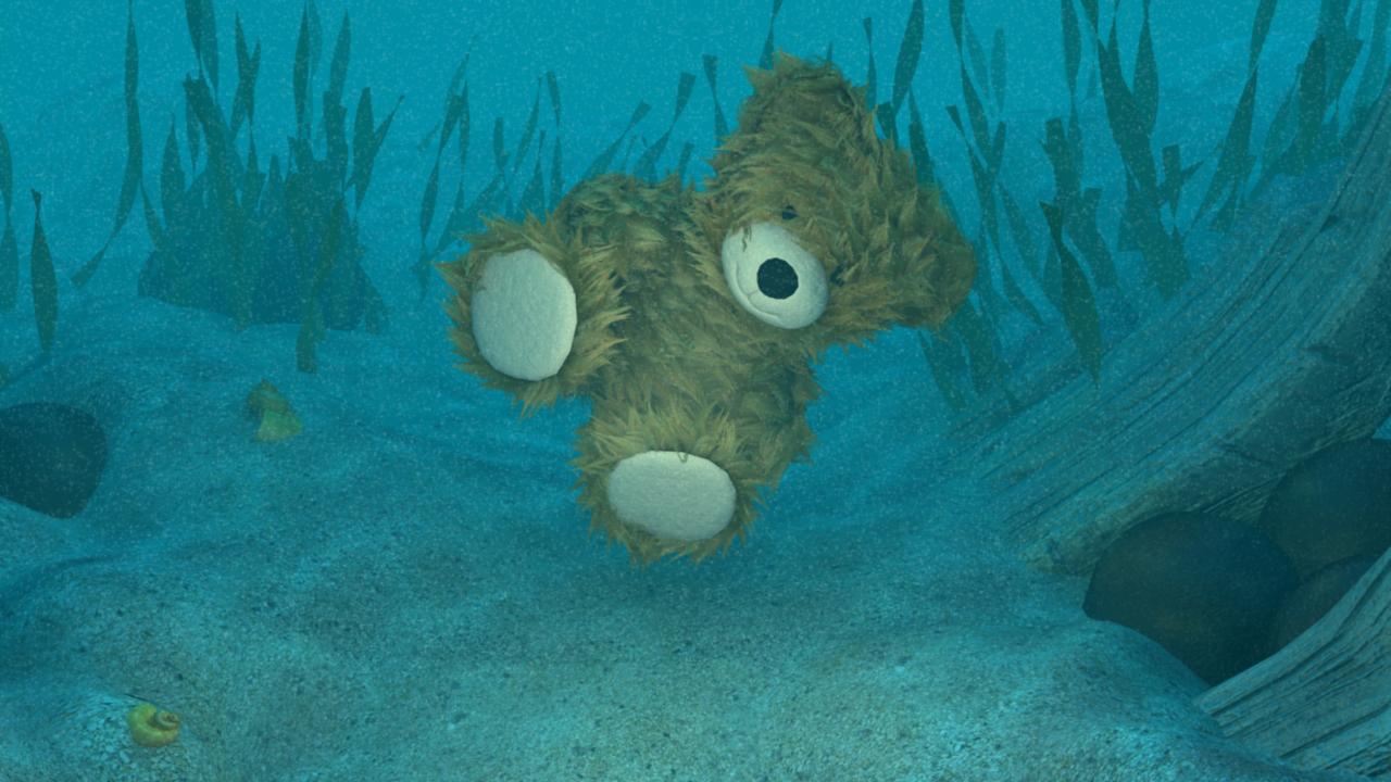 Underwater Bear 01