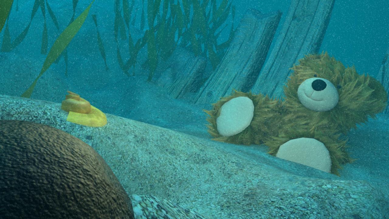Underwater Bear 02