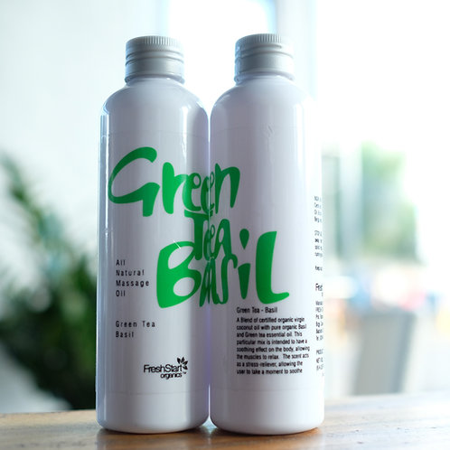 All Massage Oil Green Tea Basil