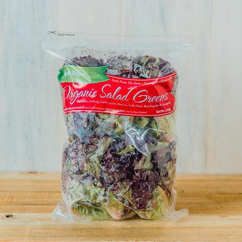 Organic Salad Greens