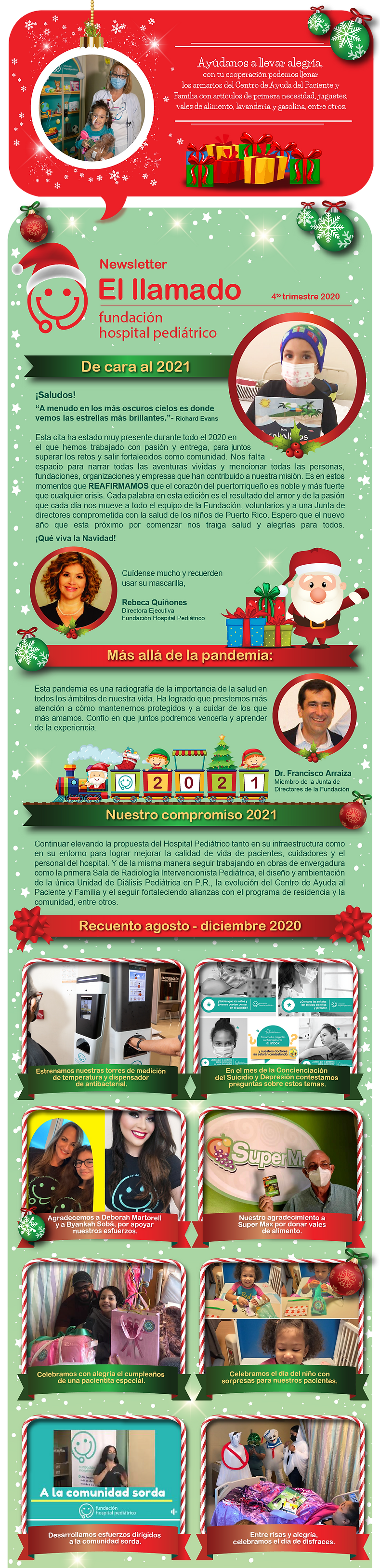 Fundación 20-12-15 News Letter Navidad