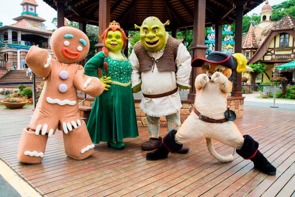 turma do sherek