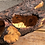 Thumbnail: Large Empty Pine Wood log planter