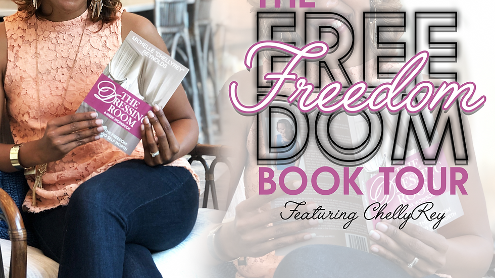 The Freedom Book Tour with ChellyRey