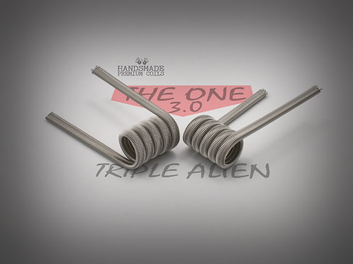 Handmade alien coils - The One Red Triple Alien