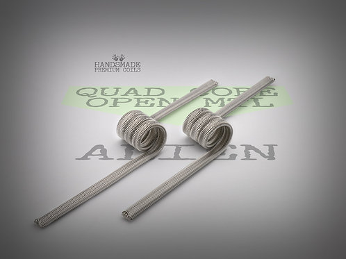 Handmade alien coils - Quad Core Alien open MTL