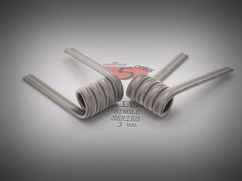 Handmade alien coils - 5 Core Alien Single Series  3mm