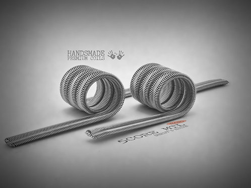 Handmade alien coils - 5 Core Alien MTL Sheriff's Edition - Nano