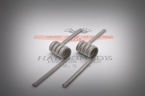 Handmade alien coils - Quad Core Alien RDL Mech 2.5 mm