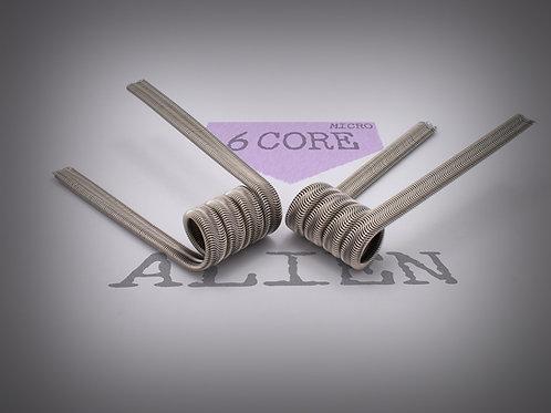 Handmade alien coils - 6 Core Alien Micro