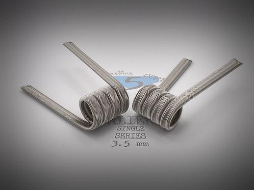 Handmade alien coils - 5 core Alien Single series 3.5 mm
