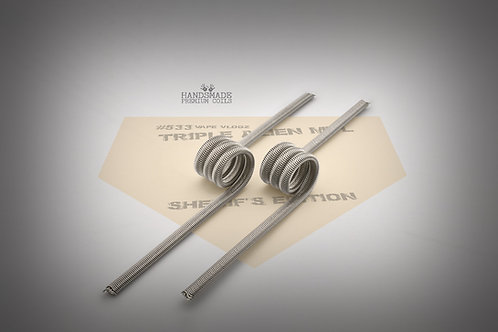 Handmade alien coils - Triple Alien MTL Sheriff's Edition