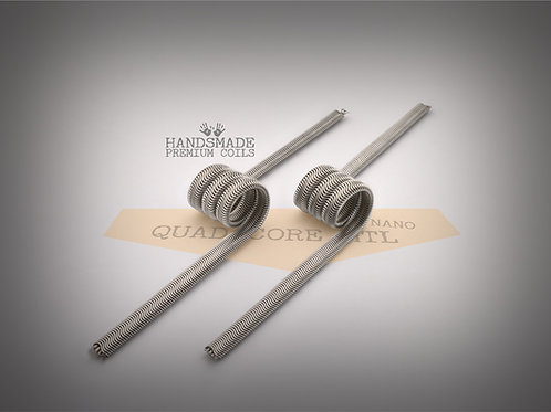 Handmade alien coils - Quad Core Alien MTL Nano